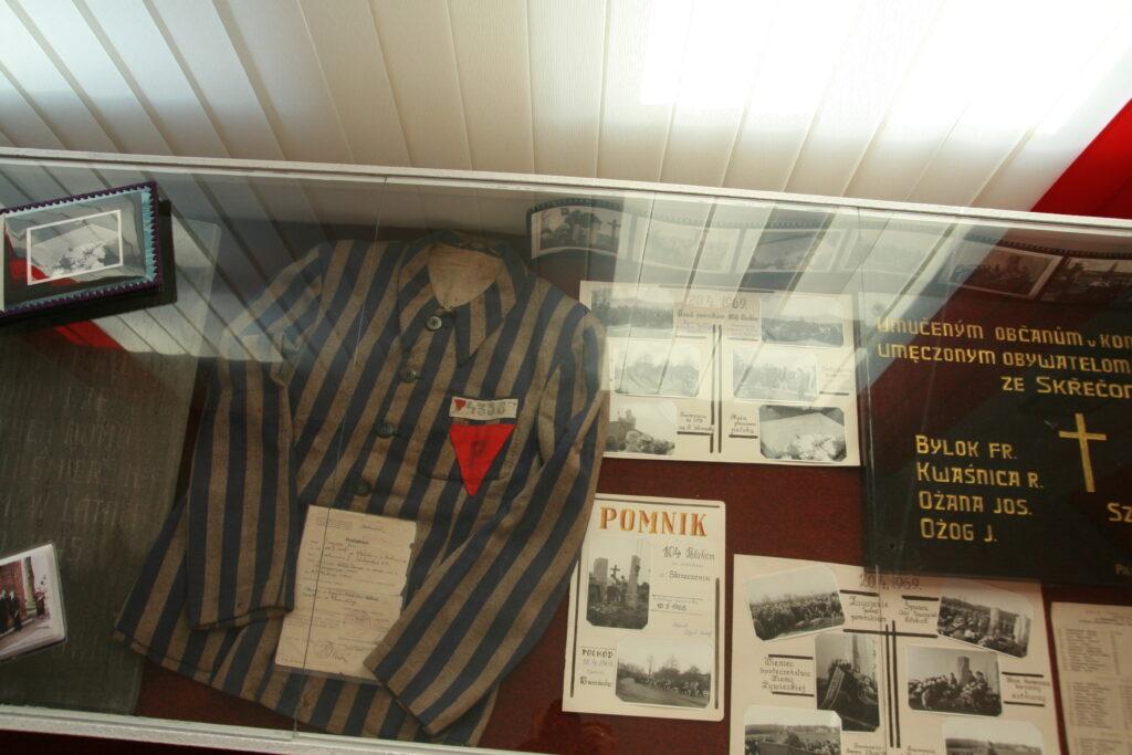 Vzpomínka na oběti Polenlageru č. 32 v Novém Bogumíně