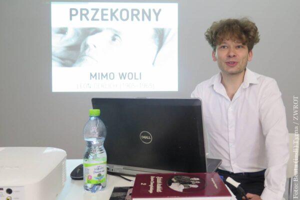 MUR. Wojciech Święs představil posluchačům osobnost Leona Derlicha