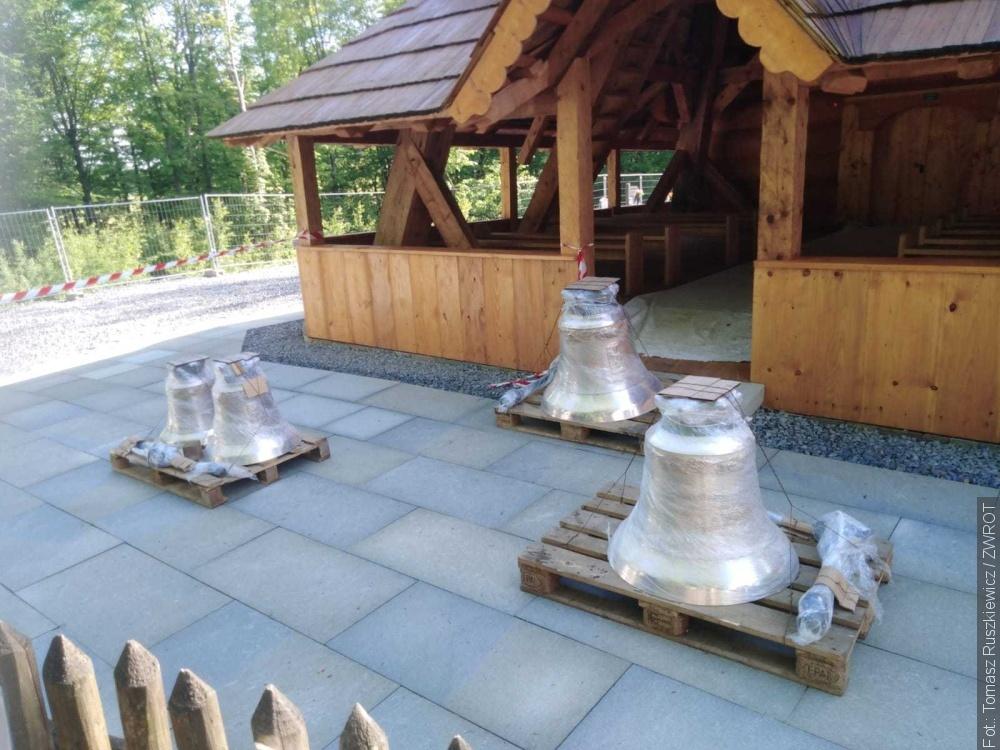 V Gutech už jsou zvony
