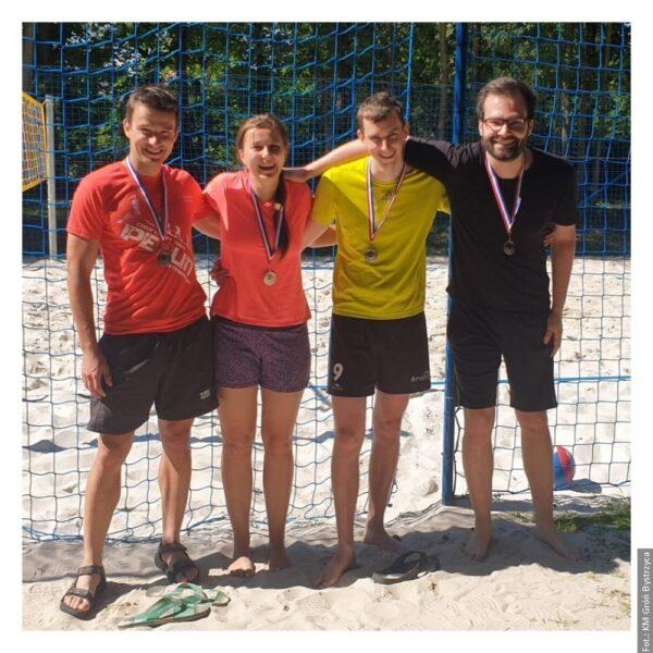 V Bystřici si zahráli plážový volejbal