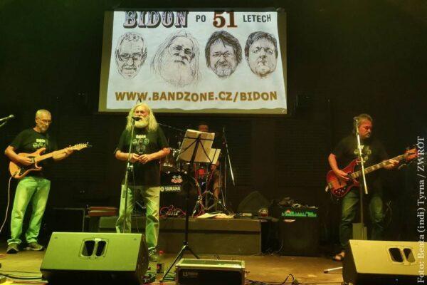 Půlstoletí blues-rockové kapely Bidon